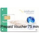 Recharge virtuelle Iridium 75 min