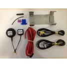 E-track kit de instalacion para moto